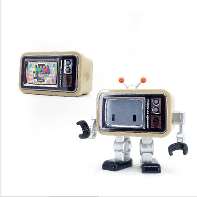 Classic TV Tinbot (Beige only)