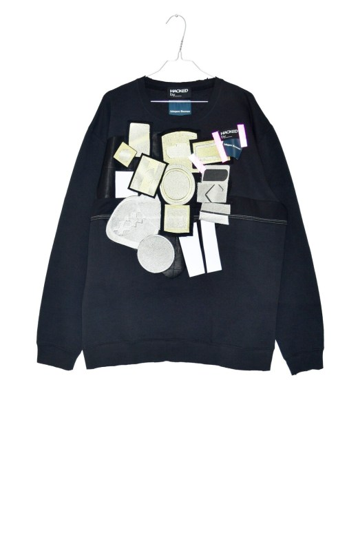 Limited edition - HackedBy__ x Schepers Bosman Sweat