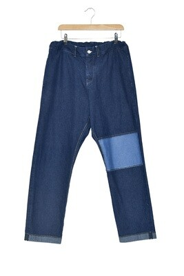 PANTS BLUE INDIGO - WASHED