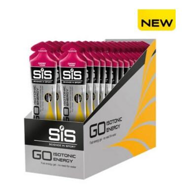 SiS Go Isotonic Energy Gels, Вишня (упаковка 30шт)
