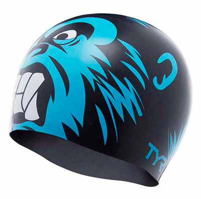 Шапочка для плавания TYR GORILLA KING SWIM CAP