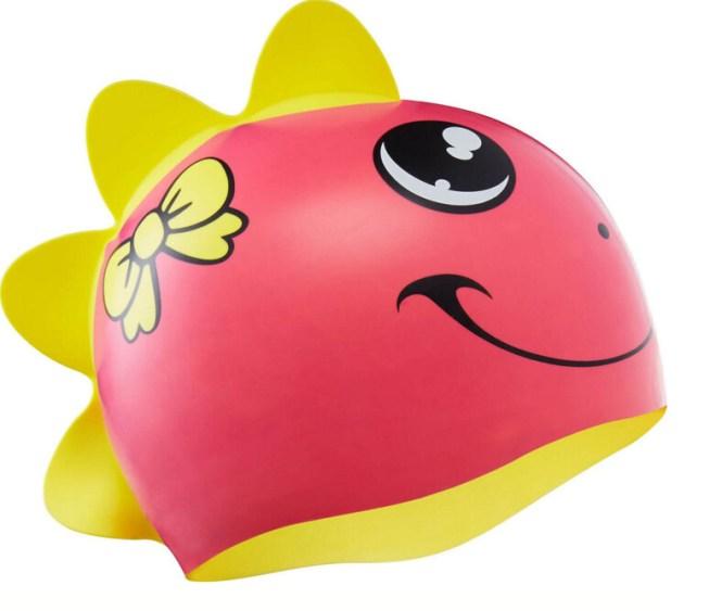 Шапочка для плавания TYR KIDS' DINO DIVA SWIM CAP