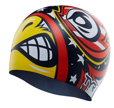 Шапочка для плавания TYR Winged Avenger Swim Cap