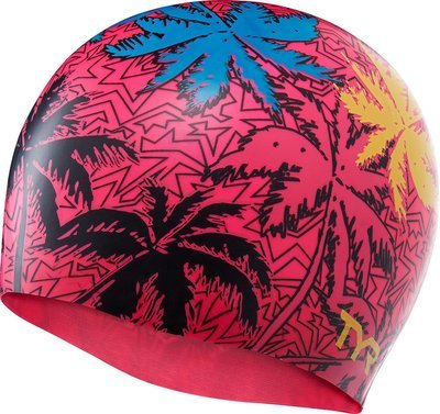 Шапочка для плавания TYR ISLAND BREEZE SILICONE SWIM CAP