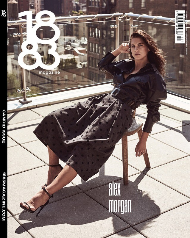 1883 Magazine Candid Issue Alex Morgan