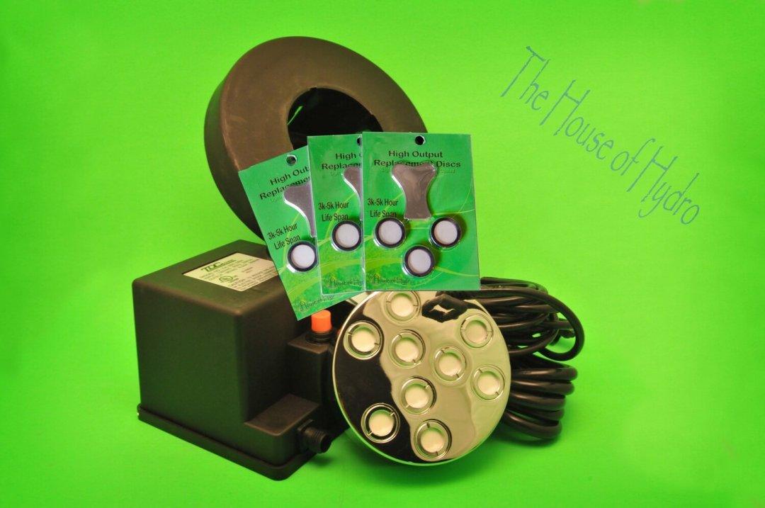 9 Disc Mist Maker Starter Kit - House of Hydro