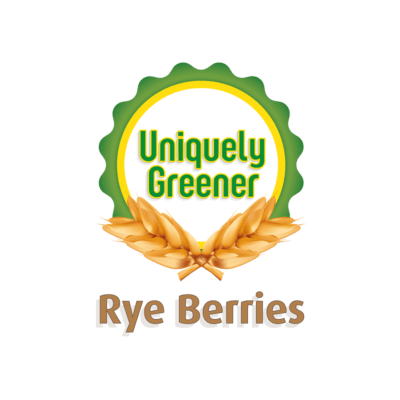 Whole Rye Berries - Non GMO (Free shipping to lower 48)