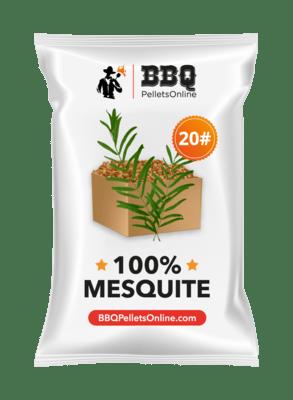 100% Mesquite BBQPelletsOnline BBQ Pellets
