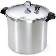Presto 23-Quart Pressure Canner and Cooker - Fedex shipping only, no PO BOX/via USPS