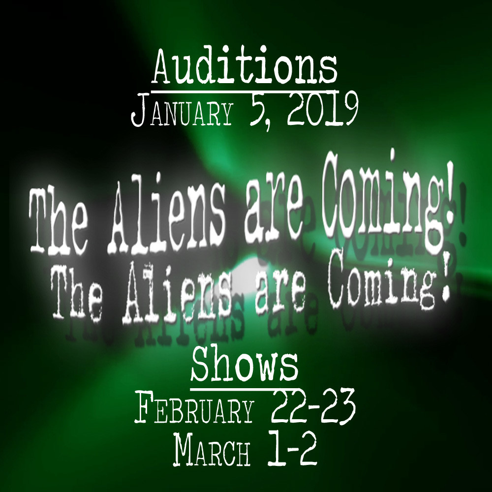 Show Poster - The Aliens are Coming!