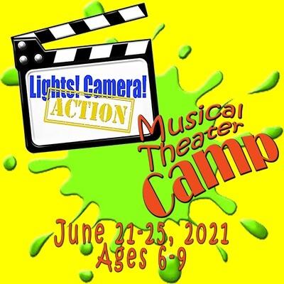 Summer Camp June 21-25 2021 | Lights! Camera! Action! | Ages 6-9
