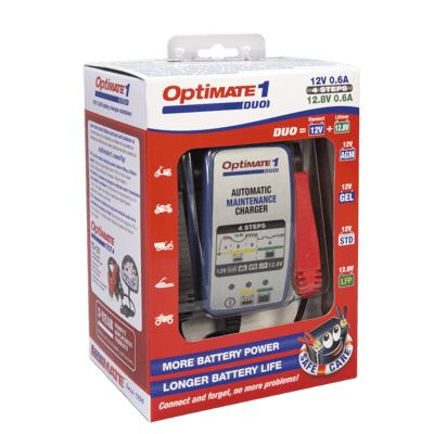 MANTENITORE / CARICA BATTERIE OPTIMATE 1 DUO GEL/LITIO