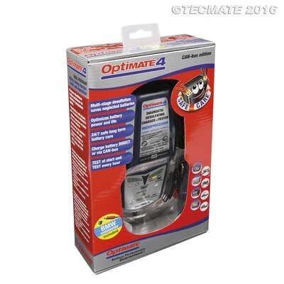 MANTENITORE / CARICA BATTERIE OPTIMATE 4 CAN-BUS