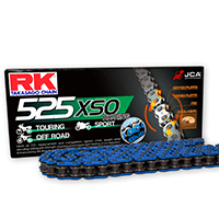 CATENA RK BLUE con X-RING per YAMAHA Tenere' 700