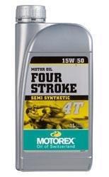 OLIO MOTOREX FOUR STROKE 4T 15W50
