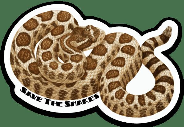 Northern Pacific Rattlesnake Sticker