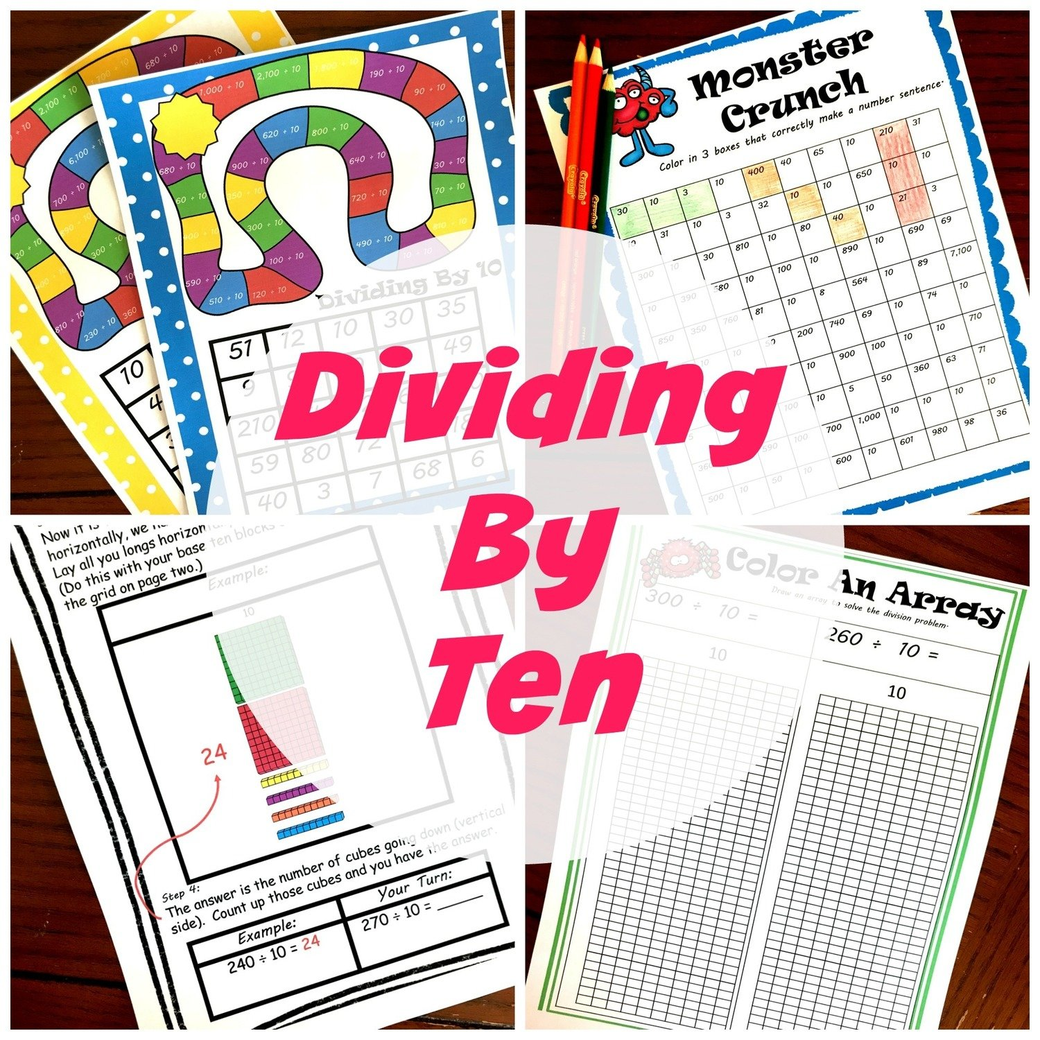 Dividing by 10