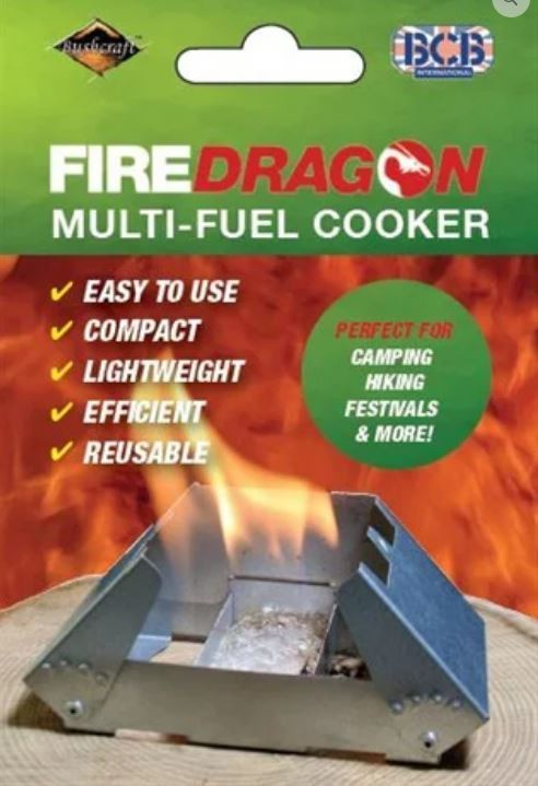 FireDragon Cooker & Windbreak