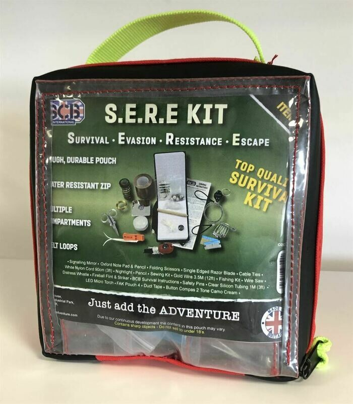 SERE Kit (Survival, Evasion, Resistance & Escape)