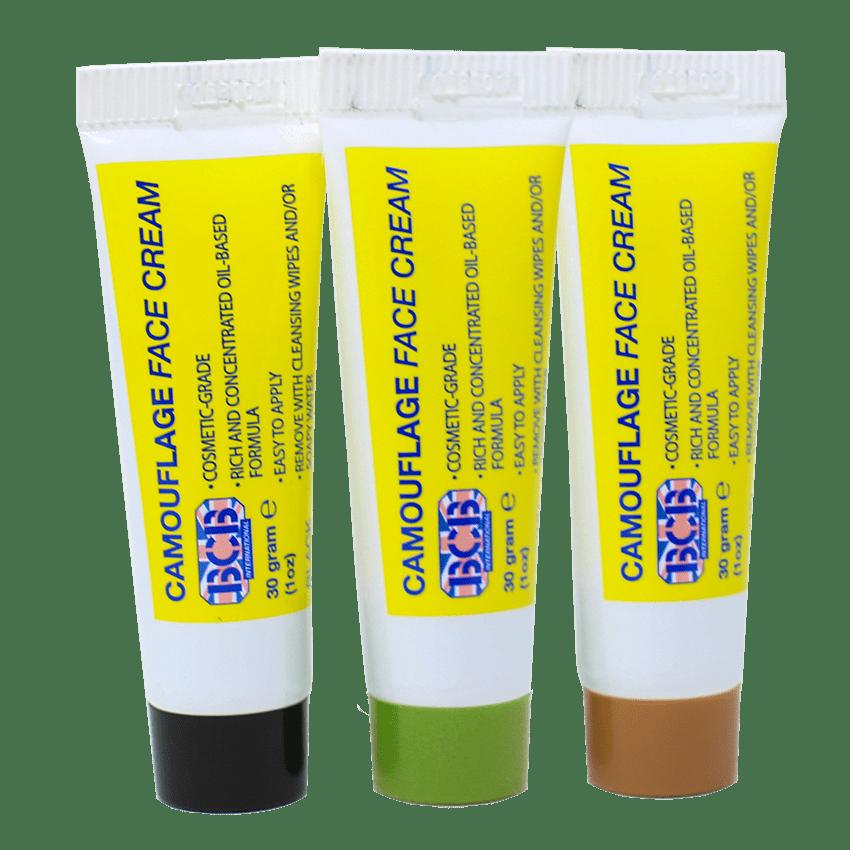 Camo Cream Tube Set