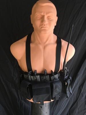Diamondback Tactical Reconnaissance Vest / Chest Rig - BLACK