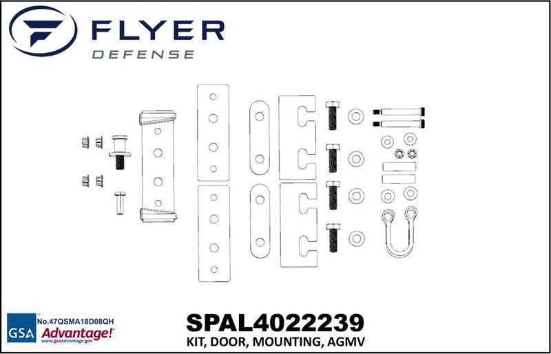 KIT, DOOR, MOUNTING, AGMV (Flyer Defense)