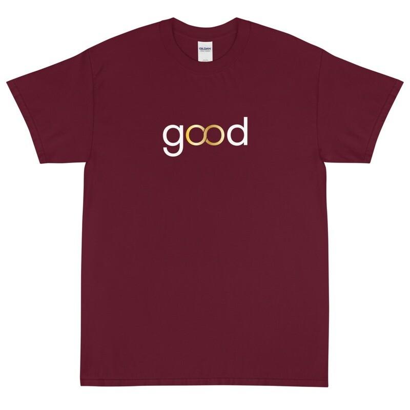 Good Forever Infinity Crimson Short Sleeve T-Shirt