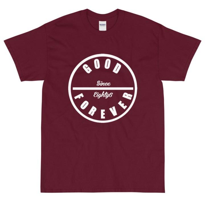 Good Forever Crimson Short Sleeve T-Shirt