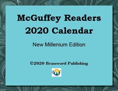 McGuffey Readers 2020 COVID-19 Memorial Calendar