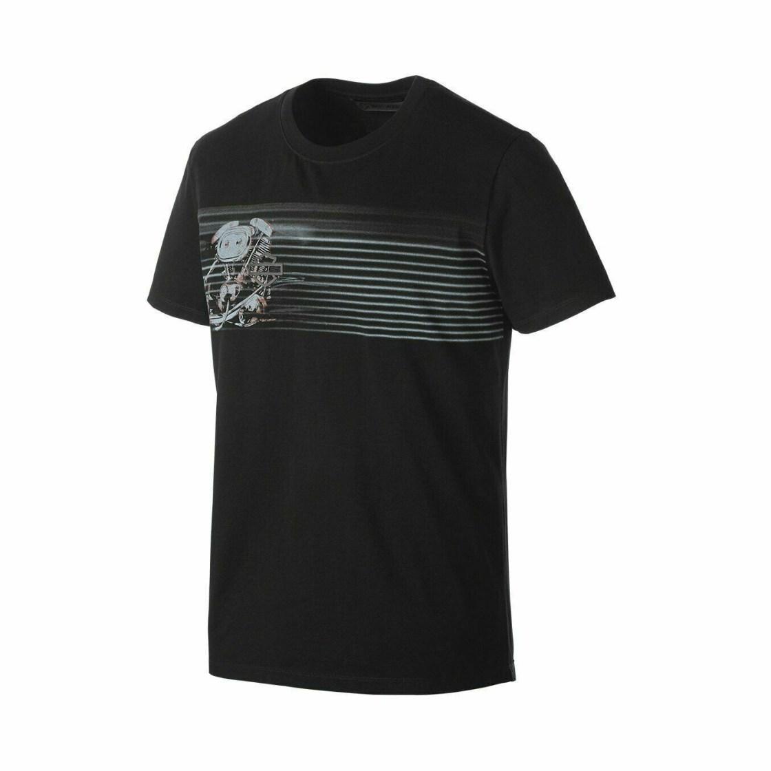T-shirt ajusté à imprimé Moteur Harley-Davidson® pour Homme 99175-19VM