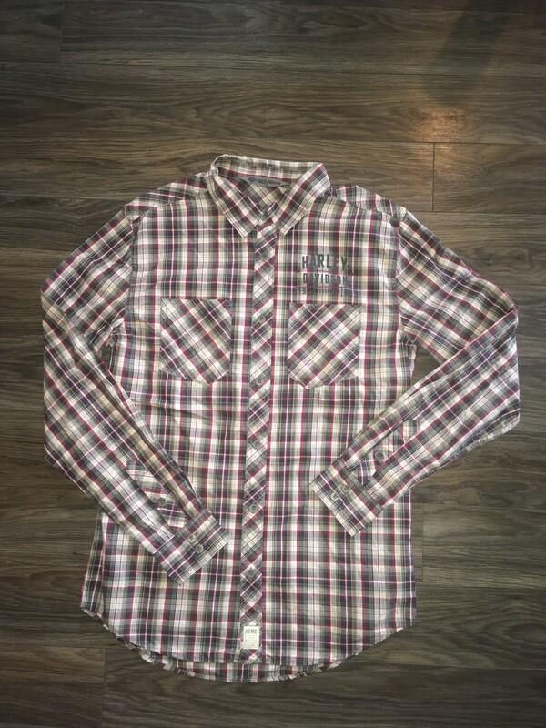 Chemise à Manches Longues pour Homme Harley-Davidson® 96236-18VM