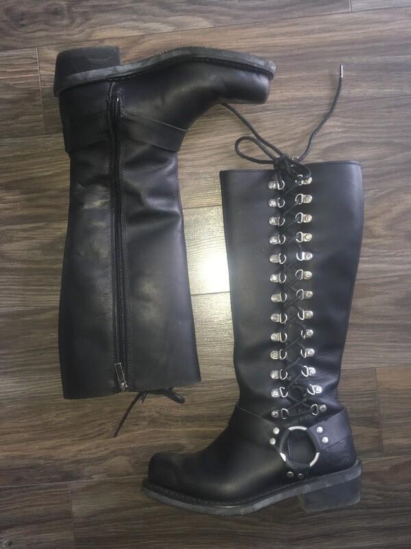 Bottes Romy Inside Zip pour femmes Harley-Davidson®. Tige 14,5