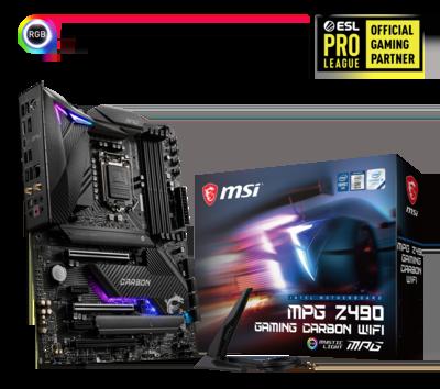 MSI MPG Z490 Gaming Carbon WiFi Motherboard