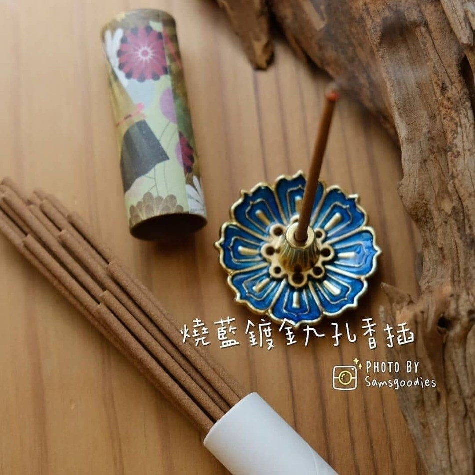 藍香插 (九孔)