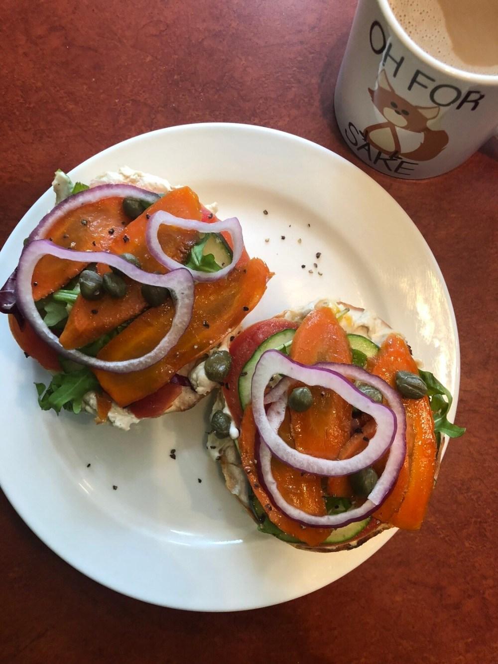 NY Bagel & Carrot Lox Platter (for 6)