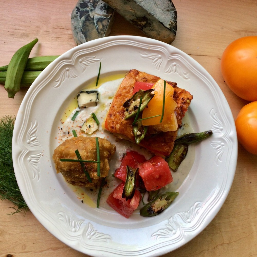 Heirloom Tomato Dinner for 2: Available 8/22 & 8/23