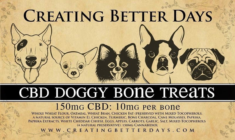 Large CBD Dog treats  (10 mg per biscuit)