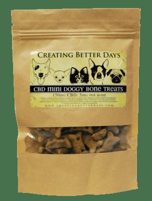 Small CBD Dog treats (5mg per biscuit)