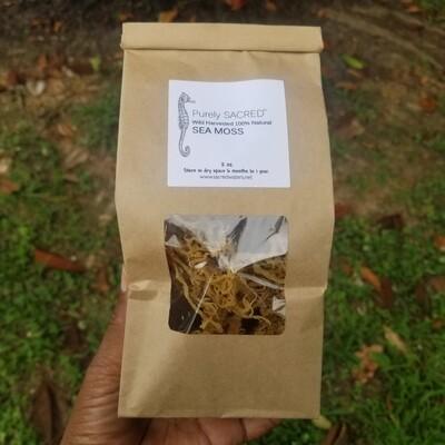 Premium Wild Harvested Sea Moss, 100% Natural