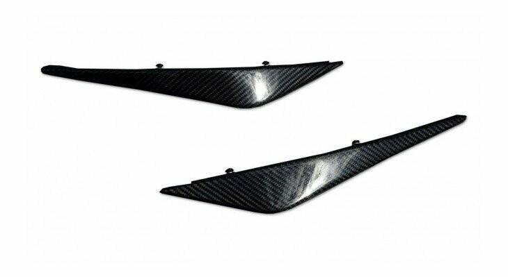 Front bumper flap