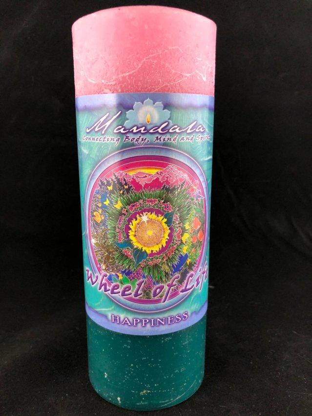 Mandala Pillar- Happiness