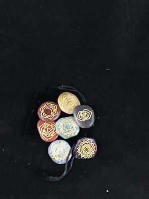 Crystal 7 piece Chakra Set