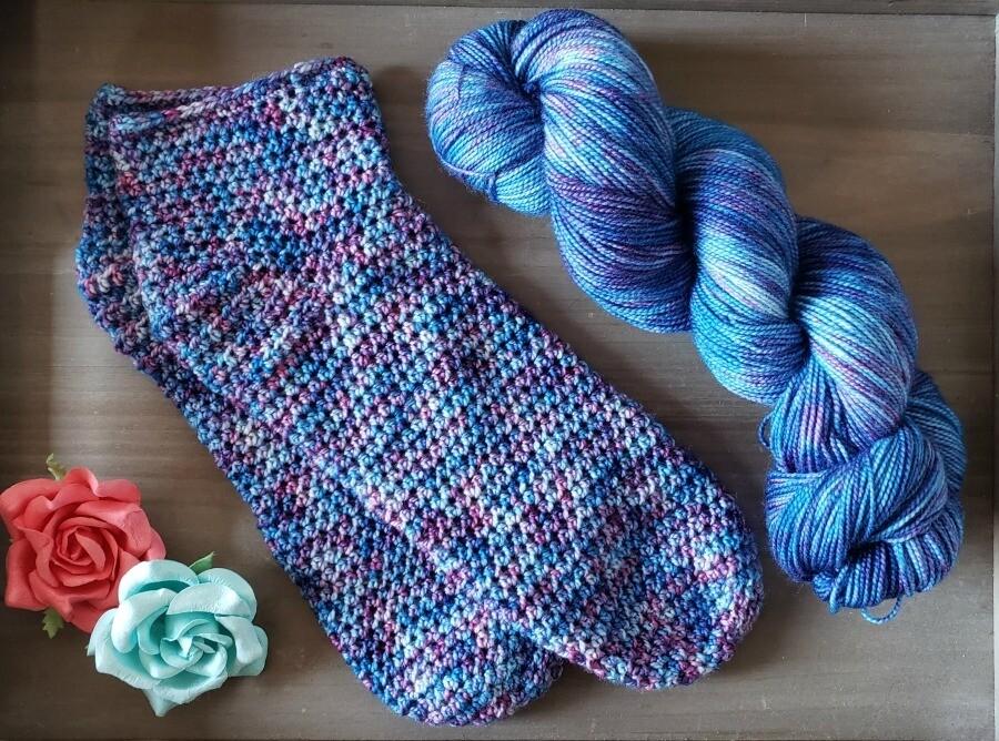 Simplicity Socks Crochet Kit