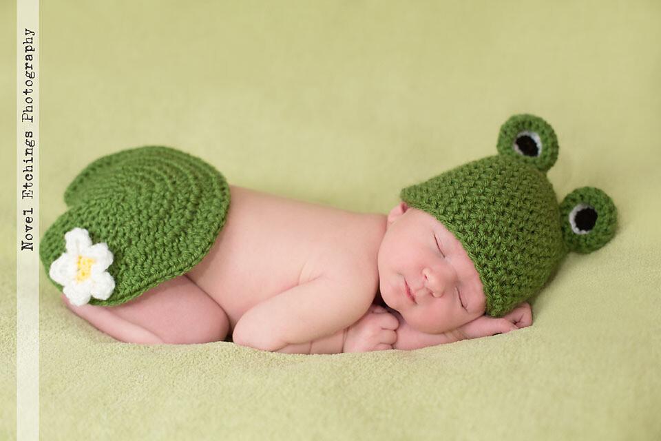 Frog Baby Crochet Pattern