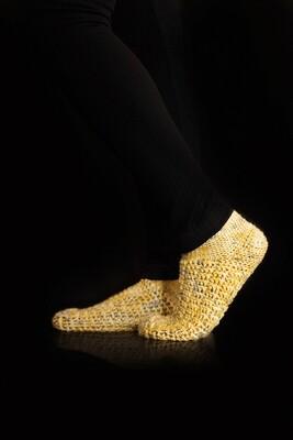 Honeybee Socks Crochet Pattern