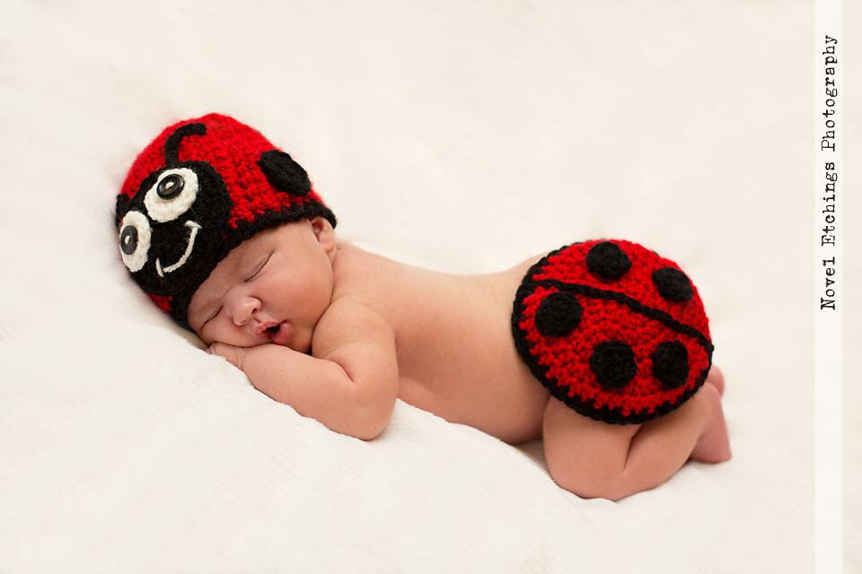 Ladybug Baby Crochet Pattern