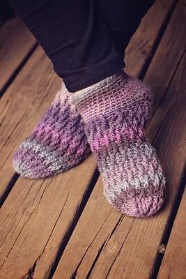 Ripple Socks Crochet Pattern