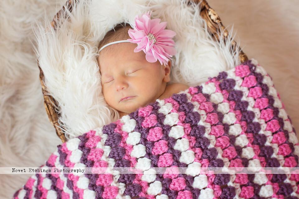 Spring Tulip Blanket Crochet Pattern