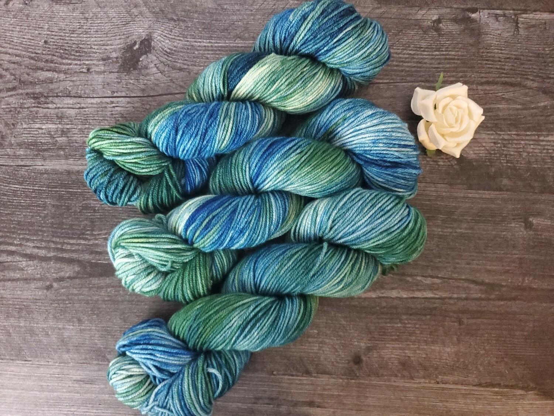 Dragonfly Hand Dyed Yarn