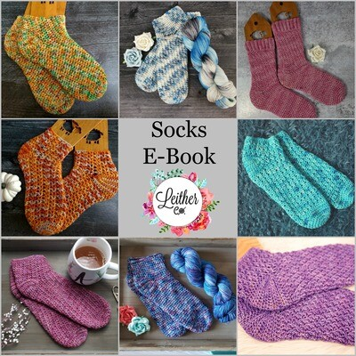 Get Hooked on Socks E-Book